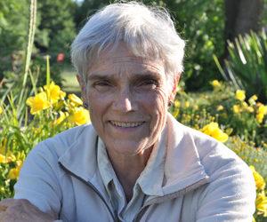 Lucie, venue en retraite depuis le Québec